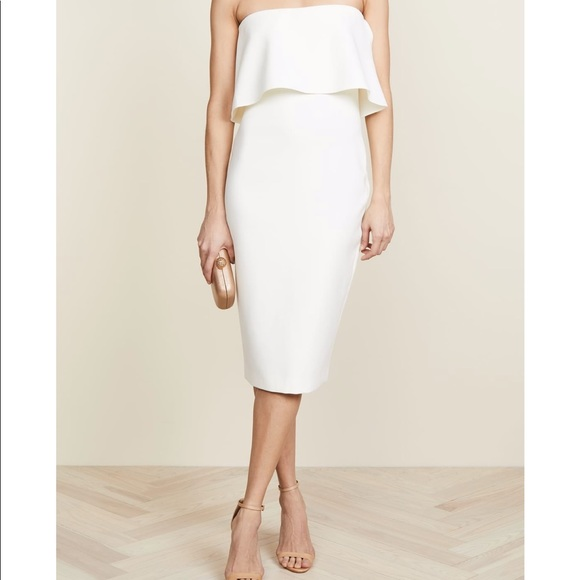 Likely Dresses & Skirts - Likely white strapless dress
